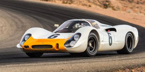 Land vehicle, Vehicle, Car, Sports car, Race car, Coupé, Classic car, Porsche 907, Porsche, Racing,