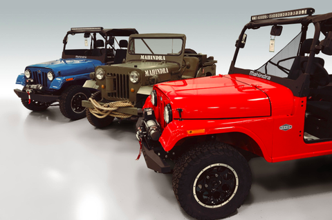 The Mahindra Roxor Is A New Side By Side That Looks Like A