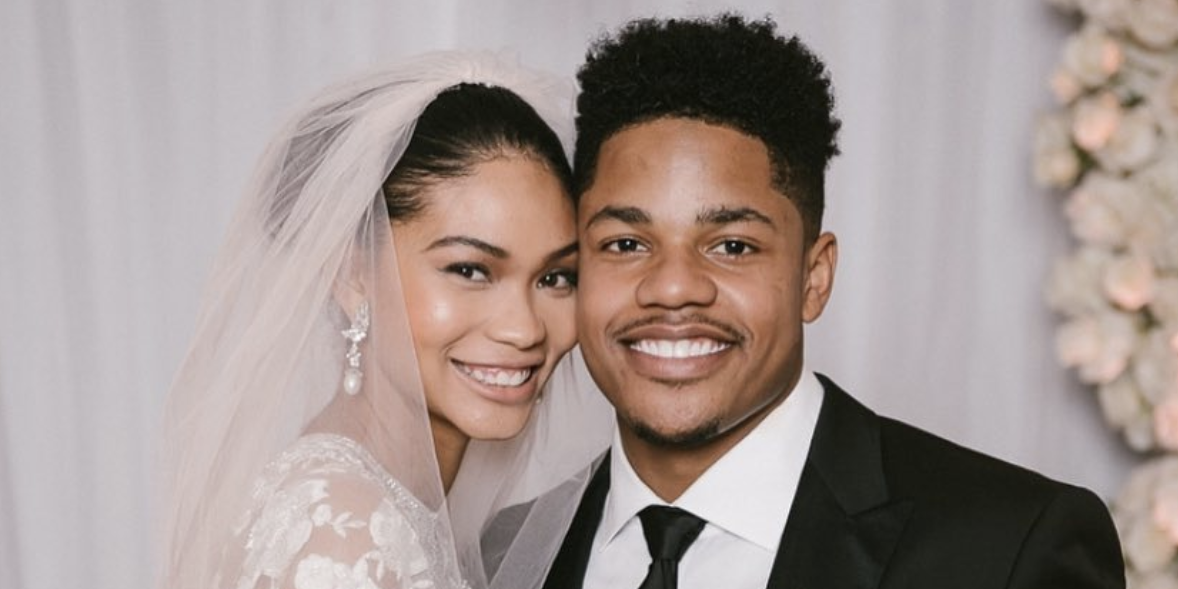Image result for Chanel Iman Marries New York Giants Sterling Shepard