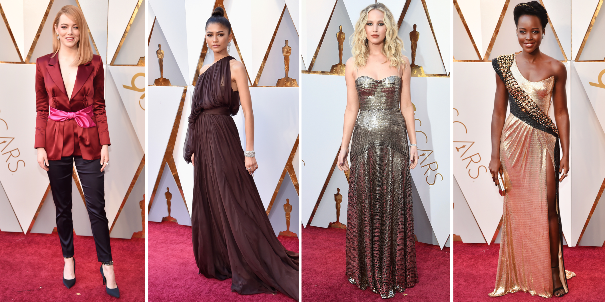 oscars 2018 red carpet dresses