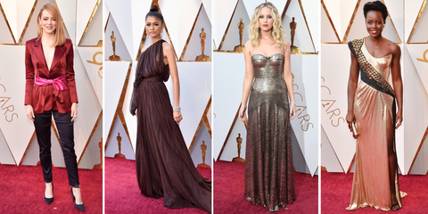 4415bc8105fb Best Red Carpet Dresses Oscars 2018 - Celebrity Fashion at Oscars 2018