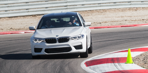 2018 BMW M5 Test Drive
