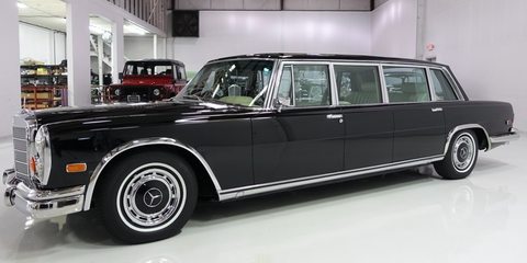 Land vehicle, Vehicle, Car, Luxury vehicle, Motor vehicle, Full-size car, Classic car, Mercedes-benz 600, Classic, Vintage car,