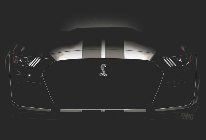 Here's Your First Look at the New Mustang Shelby GT500