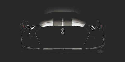 2019 Ford Mustang Shelby Gt500 News Rumors New Mustang Shelby Gt500 Details