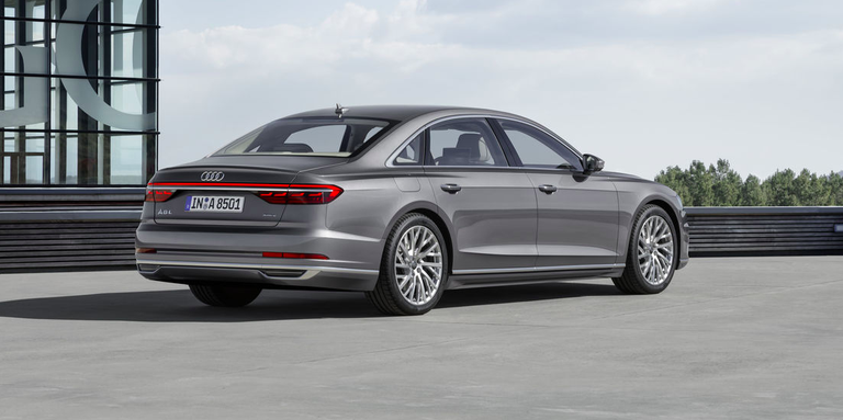 The New A8 Will Be the Last 12-Cylinder Audi