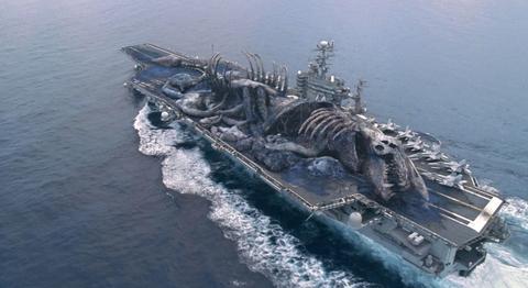 Ship, Vehicle, Warship, Naval ship, Amphibious assault ship, Aircraft carrier, Watercraft, Supercarrier, Seaplane tender, Boat,