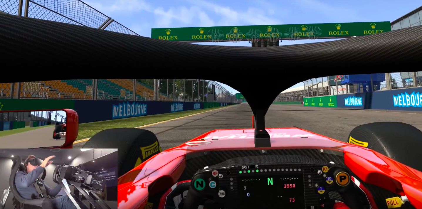 Formula 1 Driver Explains Exactly How The New Halo Impacts Driver Vision