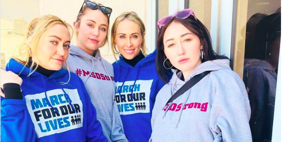 Here Are All the Celebrities At March for Our Lives