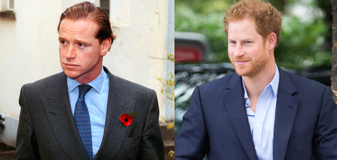 The Best Prince Harry Real Dad Pic Side By Side