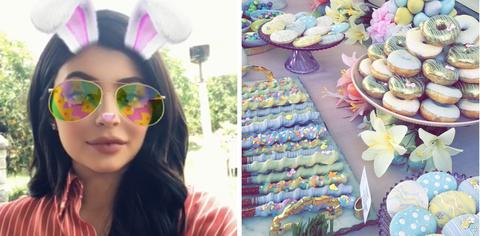 Eyewear, Sunglasses, Glasses, Ear, Selfie, Easter, Headgear, Smile, Vision care, Photography,