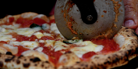Food, Ingredient, Pizza, Baked goods, Pizza cheese, Cuisine, Dish, Finger food, Recipe, Fast food,