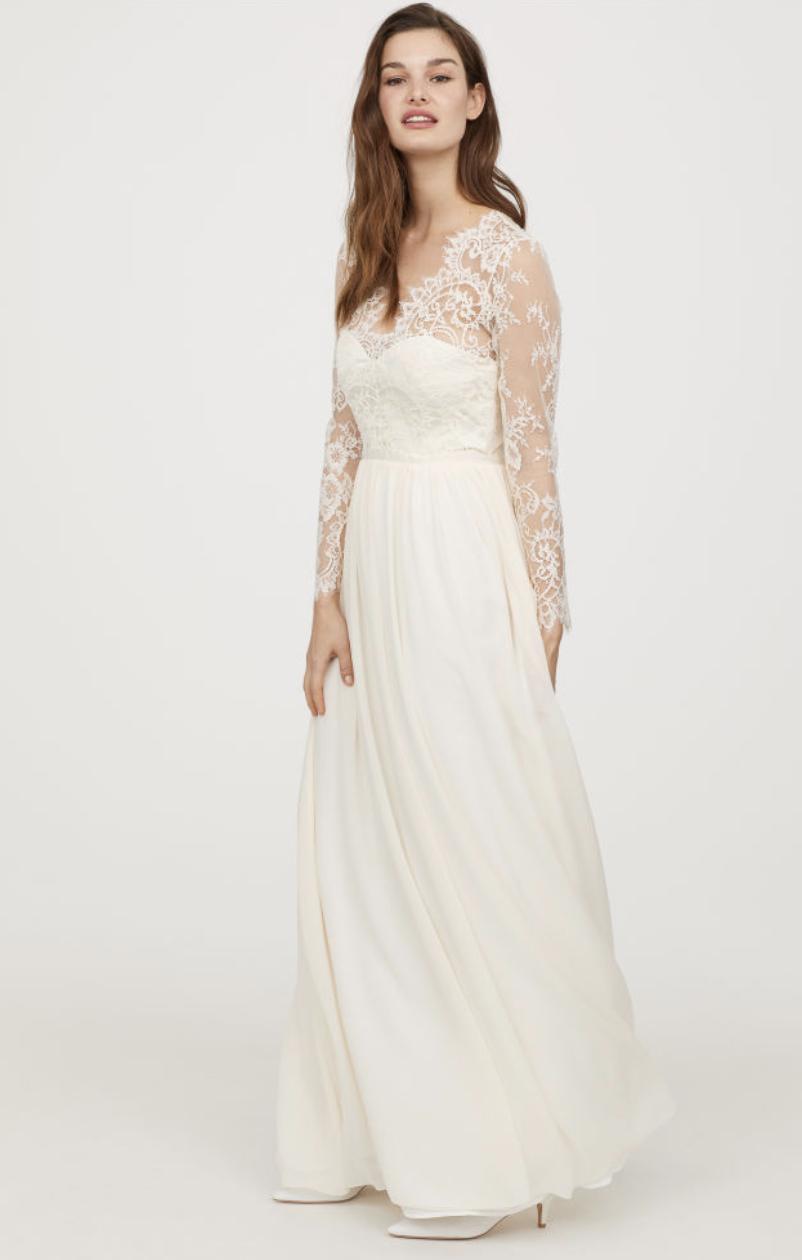 dress of wedding