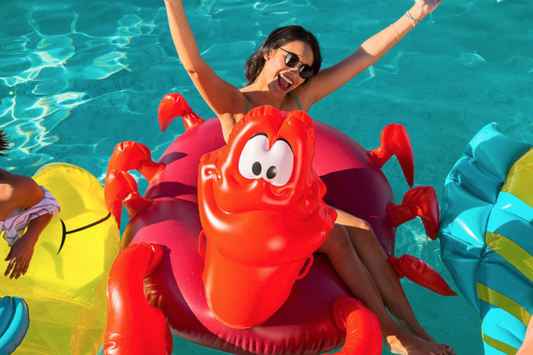 Disney Just Launched A Collection Of Little Mermaid Pool