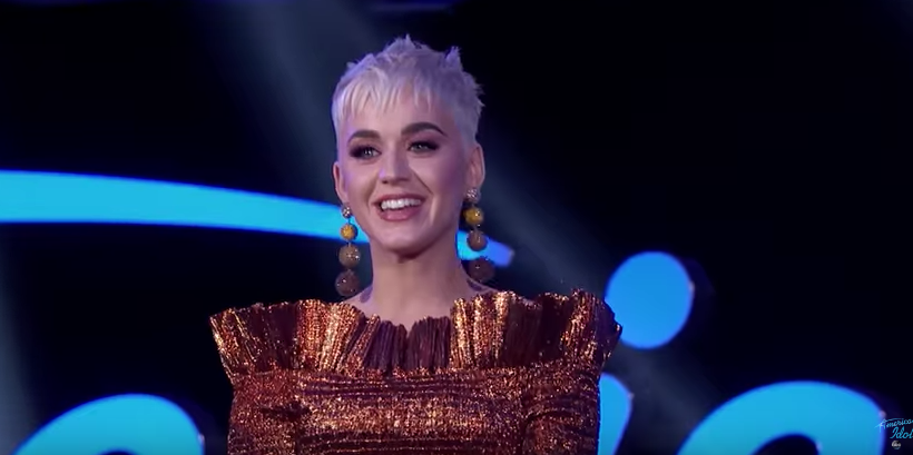 Katy Perry Wore A Very Katy Perry Outfit On Quot American Idol