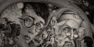 Harry Potter books get new covers for 20th anniversary