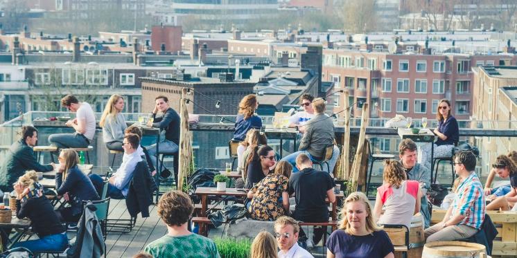 Rooftop Terrace AmsterdamHopp