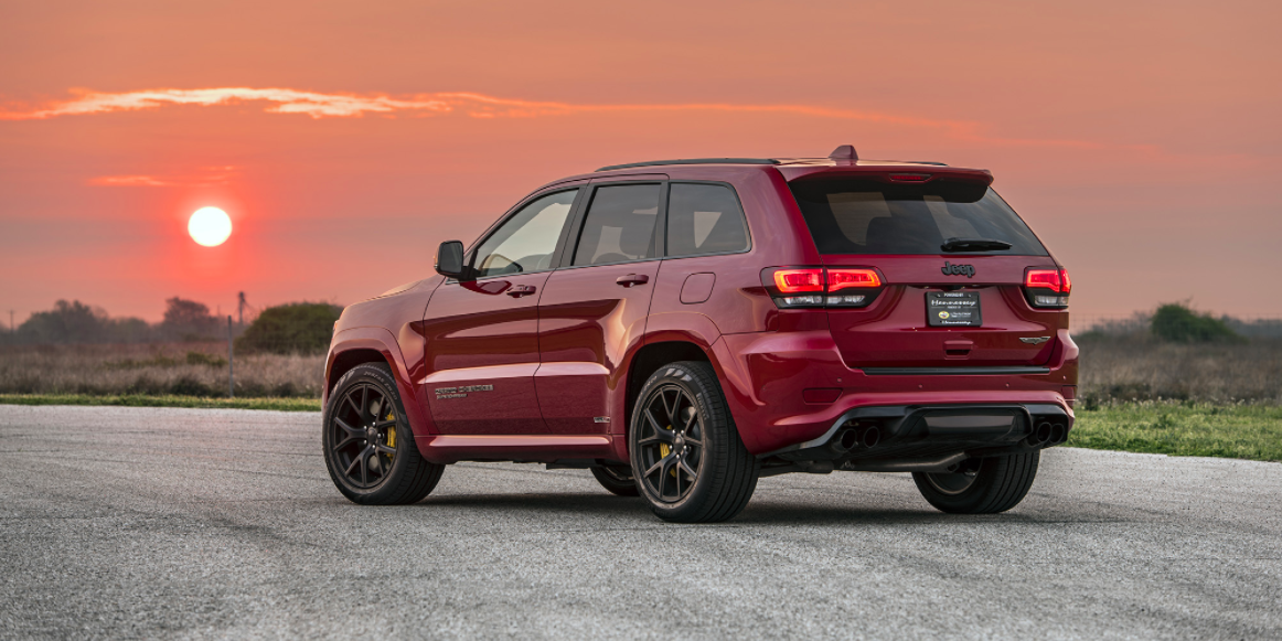 Hennessey 1000-HP Hellcat Jeep Trackhawk 0-60 Time