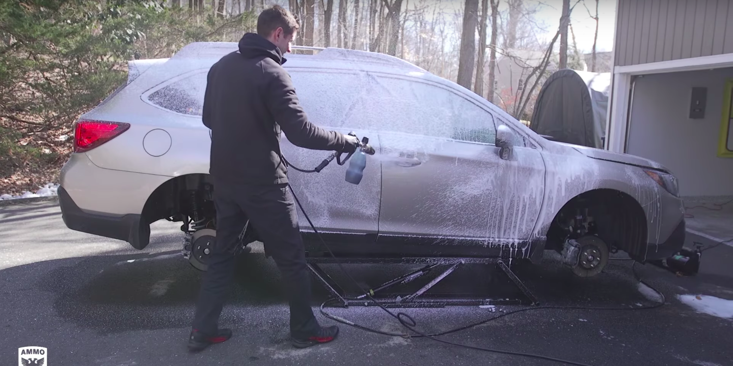 How to Wash the Winter Salt Off Your Car in Time for Spring
