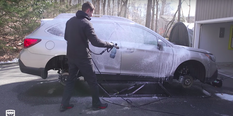 Washing Car In Winter >> How To Wash The Winter Salt Off Your Car In Time For Spring