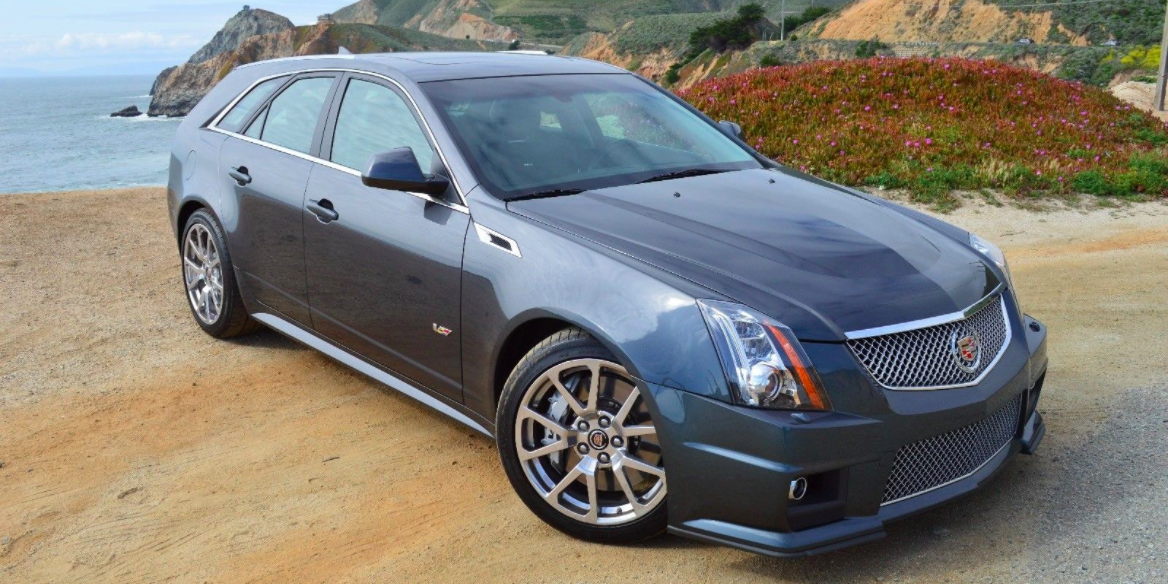 Manual CTS-V Wagon for Sale - Rare Six-Speed CTS-V Wagon