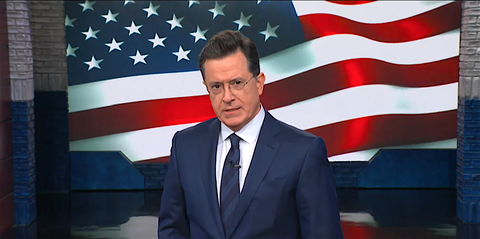 Official, Flag of the united states, News, Flag, Spokesperson, Businessperson, Gesture, Event, Suit, Job,