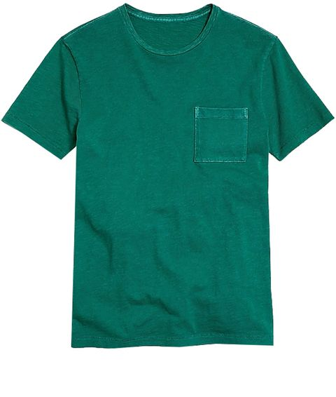 T-shirt, Clothing, Green, Active shirt, Sleeve, Pocket, Turquoise, Teal, Aqua, Sportswear,