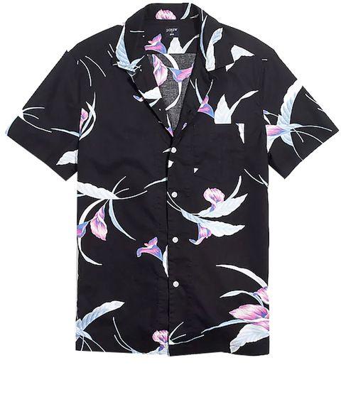 Clothing, Sleeve, T-shirt, Collar, Outerwear, Top, Pattern, Brand, Active shirt, Dress shirt,