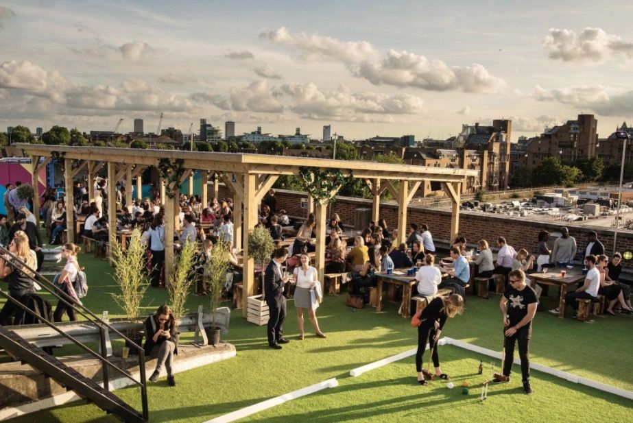 10 of the best rooftop bars around the UK