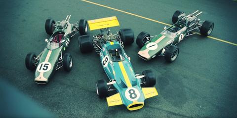 Open-wheel car, Formula libre, Race car, Formula one car, Vehicle, Formula one, Car, Lotus 25, Lotus 33, Lotus 38,