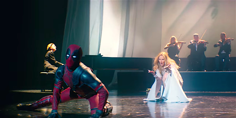 Celine Dion Deadpool 2 Song - Celine Dion Actually Recorded