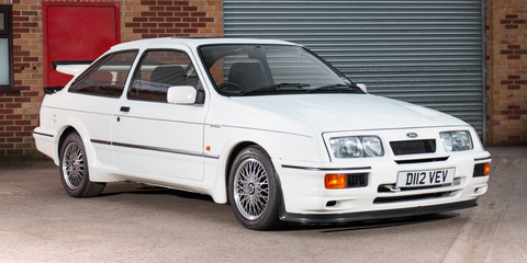 Land vehicle, Vehicle, Car, Coupé, Race car, Ford sierra rs cosworth, Group A, Classic car, Hatchback, Ford,