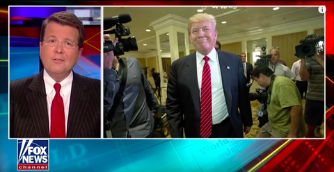 Neil Cavuto of—Wait for It—Fox News Just Called Out Trump on