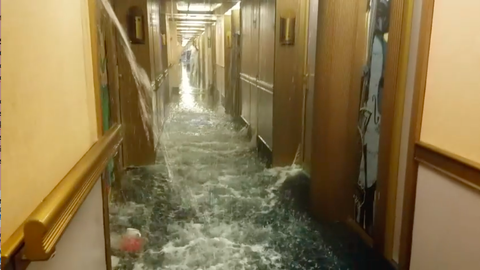 Carnival Cruise Turns Into Terrifying Hellscape As Water