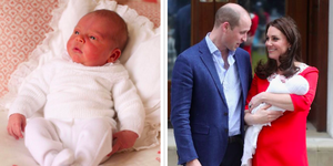 Kensington Palace just shared two new photos of Prince Louis