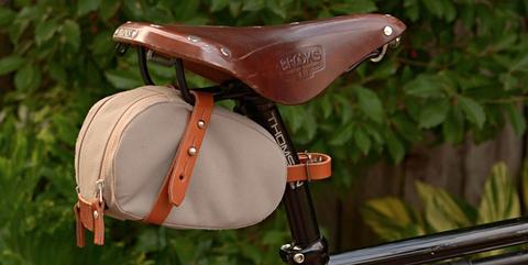 4318c92371c image. Brooks England. Bike seat packs and saddle bags can be life-savers  ...