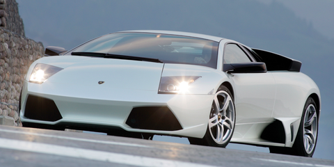Land vehicle, Vehicle, Car, Supercar, Automotive design, Sports car, Lamborghini, Lamborghini murciélago, Rim, Automotive exterior,