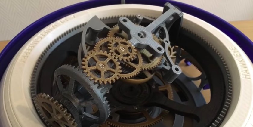 This Complex 3D Printed Watch Has 70 Moving Parts