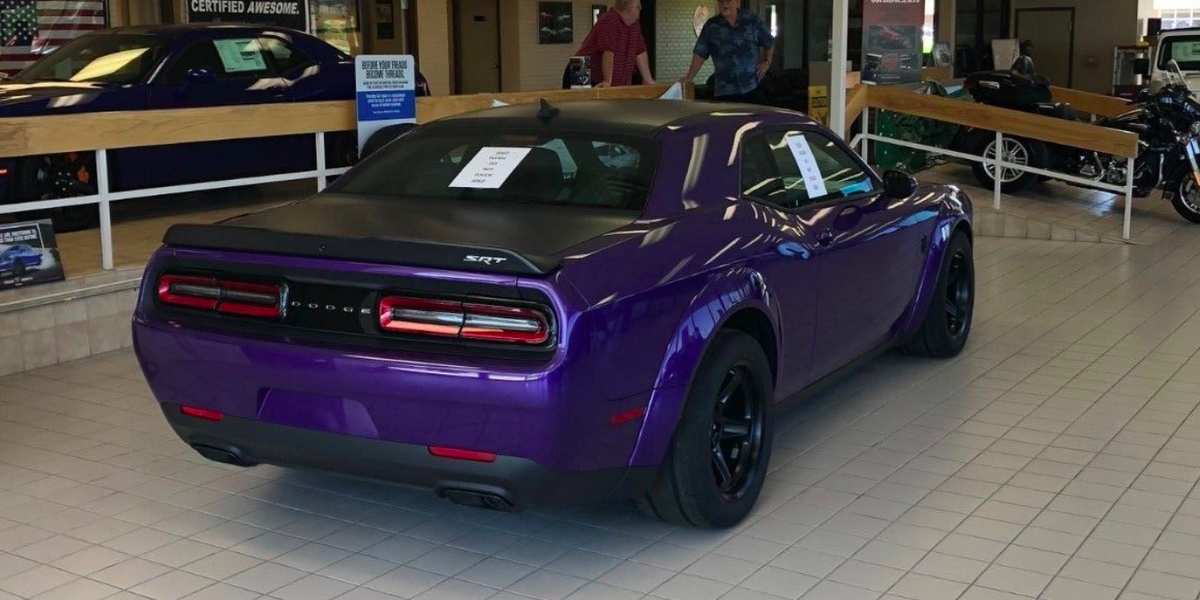 How Much Is A Dodge Demon >> Someone's Selling a Dodge Challenger Demon on eBay for ...