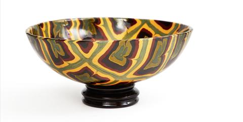 Bowl, Yellow, Orange, Tableware, Ceramic, Porcelain, Serveware, Mixing bowl, Drinkware, earthenware,