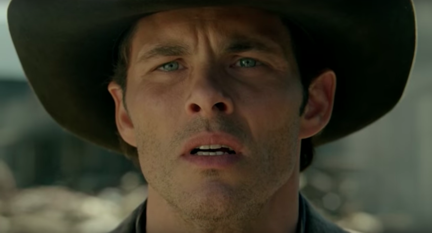 4 Moves From James Marsdens Westworld Workout See A Robot