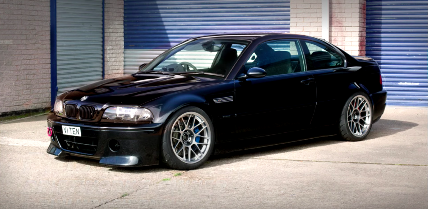 f08cdfe4b292 This V10-Swapped BMW E46 M3 Sounds Like an F1 Car