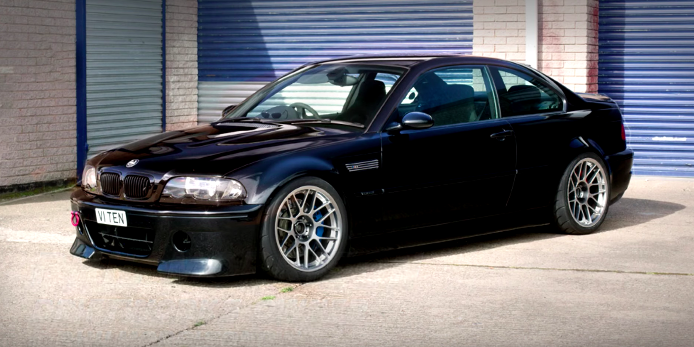 This V10-Swapped BMW E46 M3 Sounds Like an F1 Car