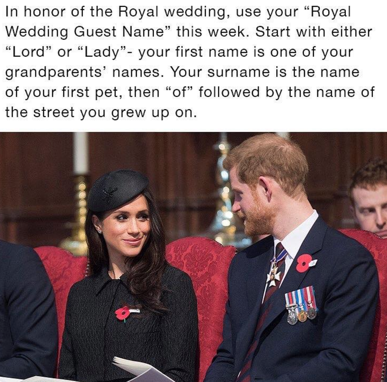 Taking Royal Wedding Facebook Quizzes Could Be a Security Risk
