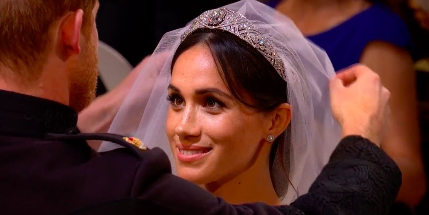 The touching moment Prince Charles walked Meghan down the aisle at the Royal Wedding