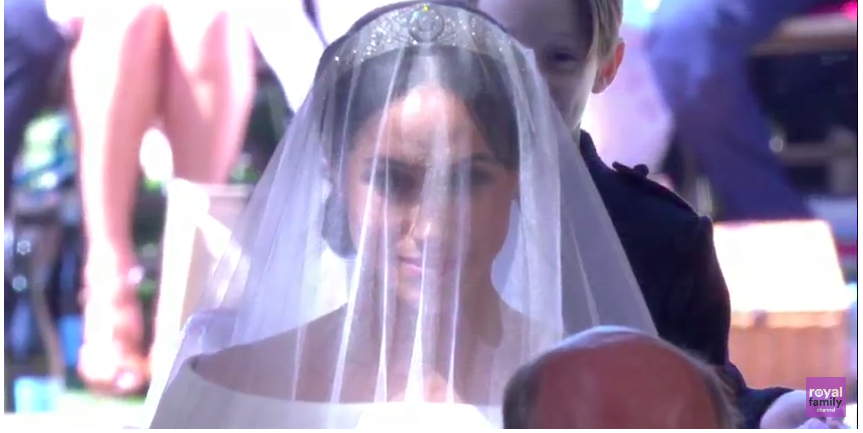 Meghan Markle, Modern Woman, Walked Herself Down the Aisle