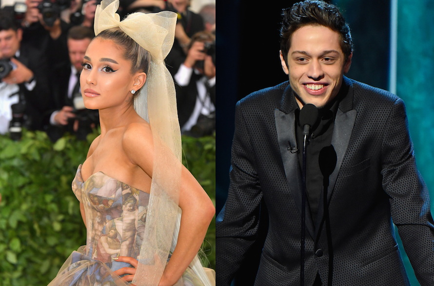 Who is dating ariana grande now hit