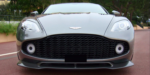 Land vehicle, Vehicle, Car, Sports car, Grille, Automotive design, Supercar, Bumper, Aston martin vanquish, Performance car,