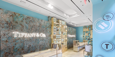 Tiffany Co Opens Concept Shops Around New York City