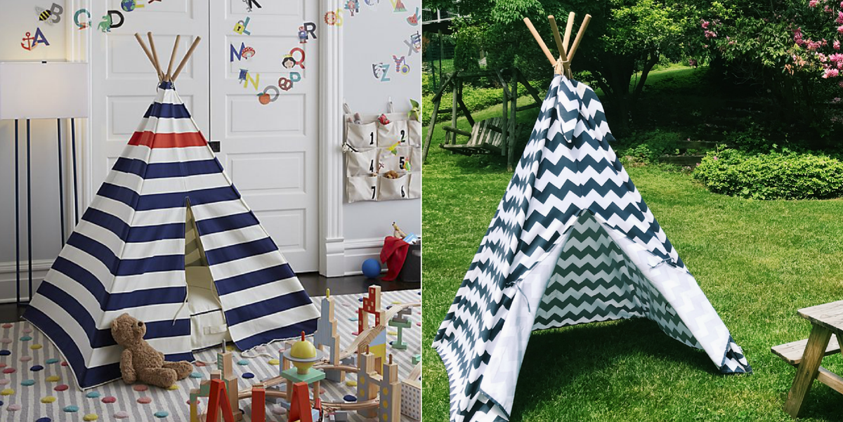 huge selection of 6f9b2 1e3f3 How To Make Your Kids' Teepee An Outdoor Playhouse For Less ...